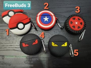 Hộp tai nghe Freebuds 3 hoạt hình 3D